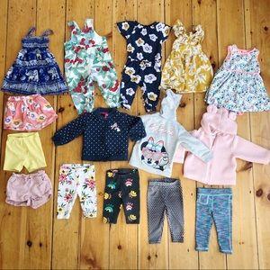 Girls 12-18 month spring clothes bundle